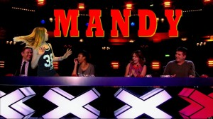Britians Got Talent. Shown on ITV1 HD Featuring: David Walliams,Alesha Dixon,Amanda Holden,Simon Cowell When: 20 May 2013 Credit: Supplied by WENN **WENN does not claim any ownership including but not limited to Copyright or License in the attached material. Any downloading fees charged by WENN are for WENN's services only, and do not, nor are they intended to, convey to the user any ownership of Copyright or License in the material. By publishing this material you expressly agree to indemnify and to hold WENN and its directors, shareholders and employees harmless from any loss, claims, damages, demands, expenses (including legal fees), or any causes of action or allegation against WENN arising out of or connected in any way with publication of the material.offline**